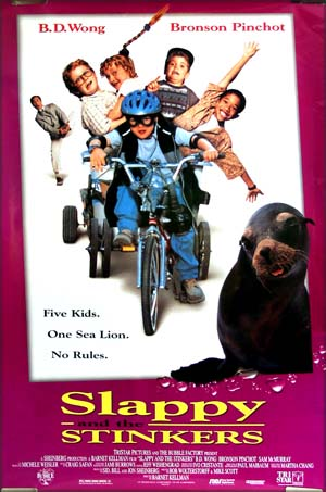 This is the US one-sheet poster for the 1997 film <i>Slappy and the Stinkers</i>.