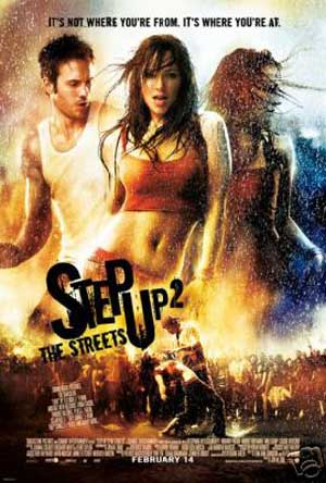 Pictured the the US promotional one-sheet poster for the 2007 Jon Chu film Step Up 2 the Streets starring Briana Evigan.