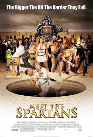 Pictured is the US promotional one-sheet poster for the 2008 Jason Friedberg and aaron Seltzer film Meet the Spartans starring Sean Maguire.