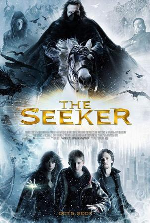 Pictured is the US promotional one-sheet poster for the 2007 David L. Cunningham film The Seeker: The Dark Is Rising, starring Alexander Ludwig