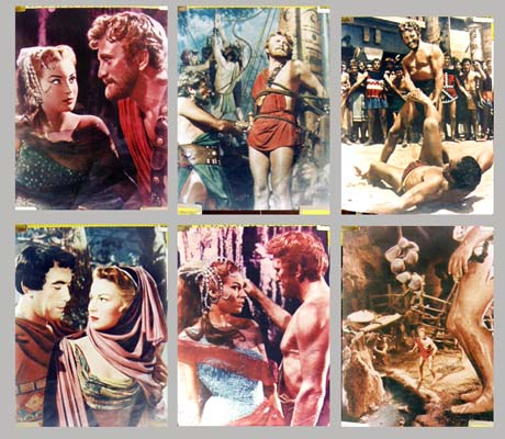 Pictured are six 12x16 color stills from the 1965 Maurizio Lucidi film Hercules the Avenger, starring Reg Park.