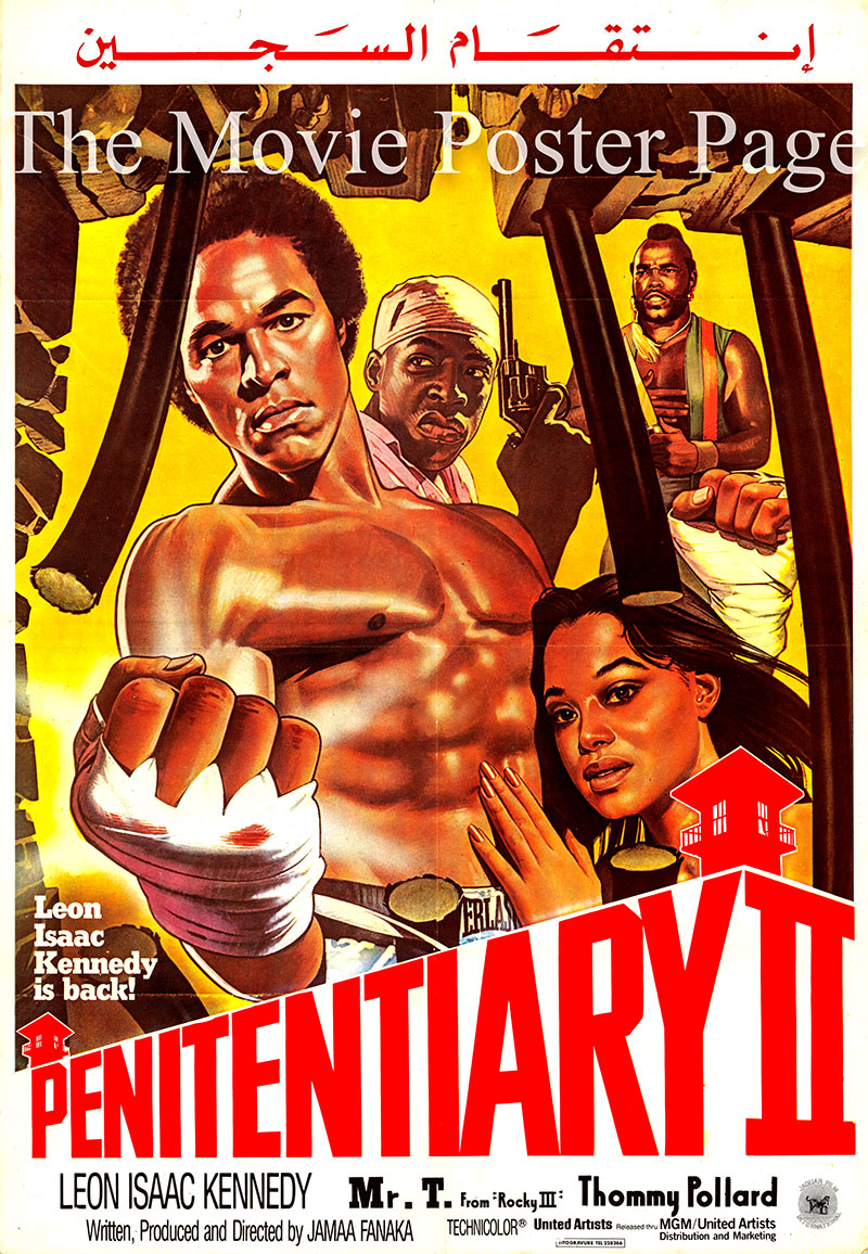 Penitentiary II (1982) - (Leon Isaac Kennedy) Egyptian ...