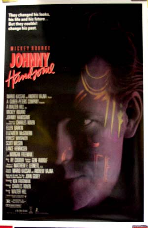 Pictured is the US promotional one-sheet poster for the 1989 Walter Hill film Johnny Handsome.