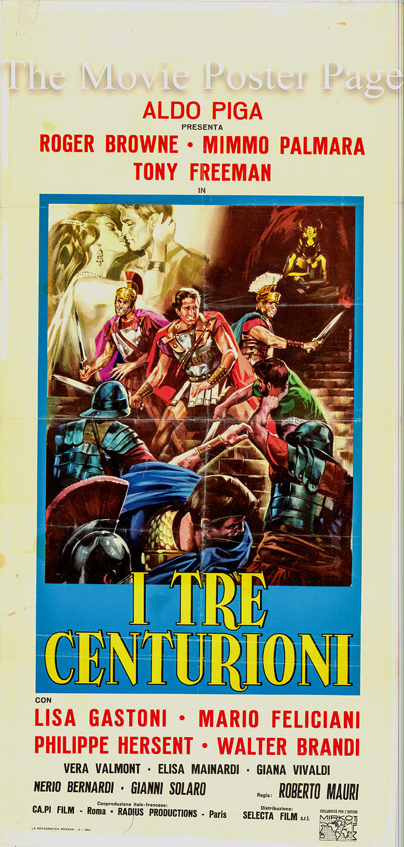 Pictured is the US one-sheet promotional poster for the film starring .