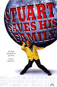 Pictured is a US one-sheet promotional poster for the 1995 Harold Rais film Stuart Saves His Family starring Al Franken.