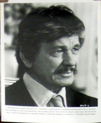 Pictured is a promotional black and white still from the 1982 Michael Winner film Death Wish II starring Charles Bronson.