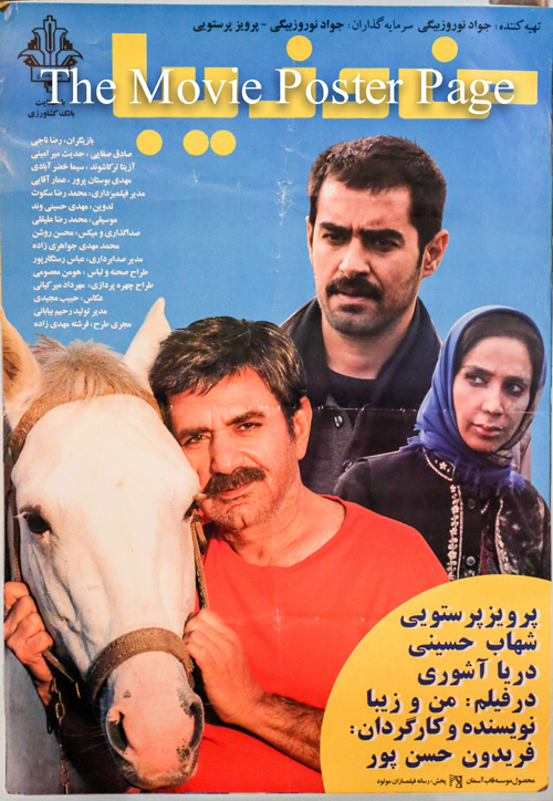 Pictured is an Iranian promotional poster for the 2011 Fereidoun Hasanpour film Ziba and I starring Shahab Hosseini.