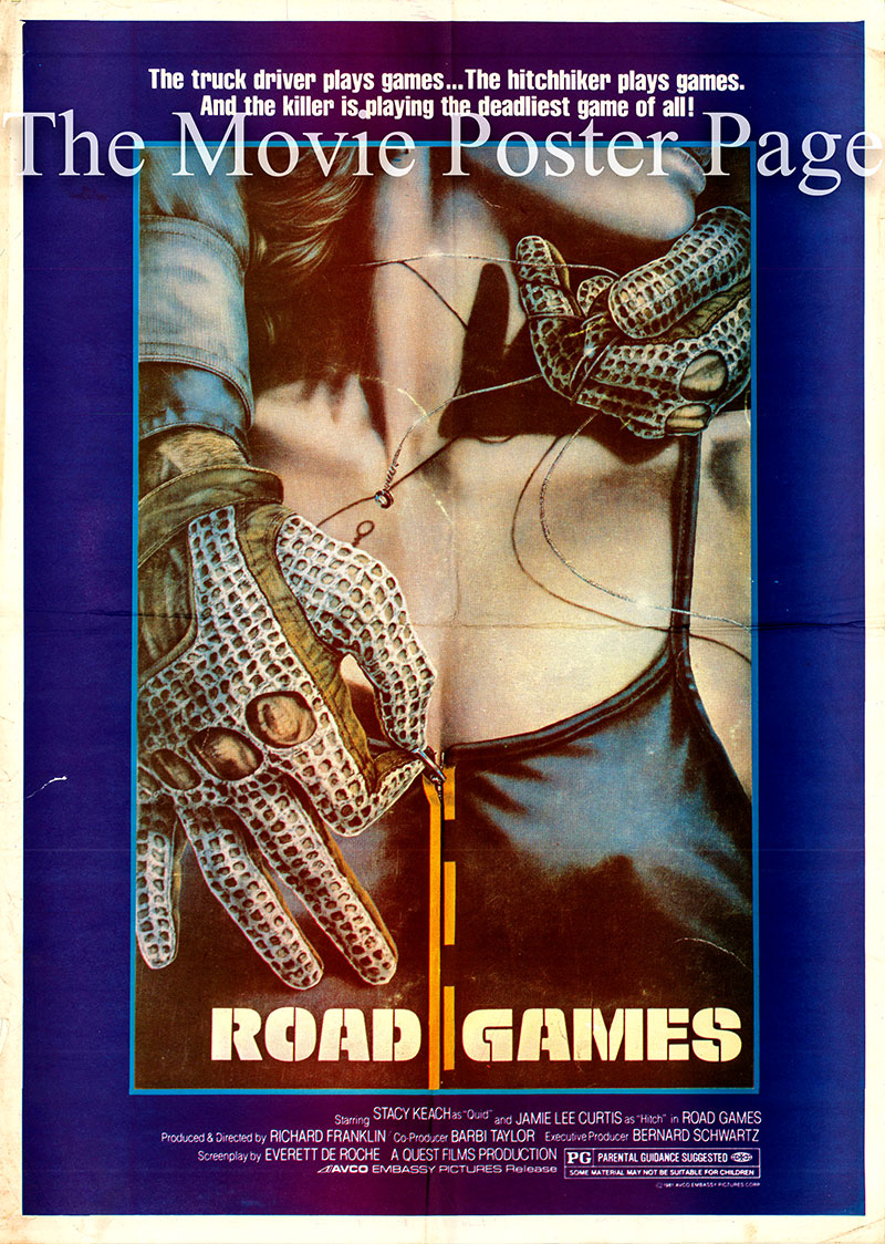 Pictured is a US one-sheet promotional poster for the film starring .