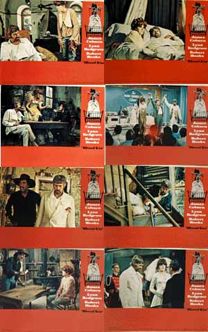 Pictured is a US lobby card set for the 1970 Sidney Lumet film Blook Kin starring James Coburn.