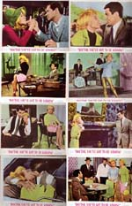 Pictured is a US lobby card set for the 1967 Peter Tewksbury film Doctor You've Got to Be Kidding starring Sandra Dee as Heather Halloran.