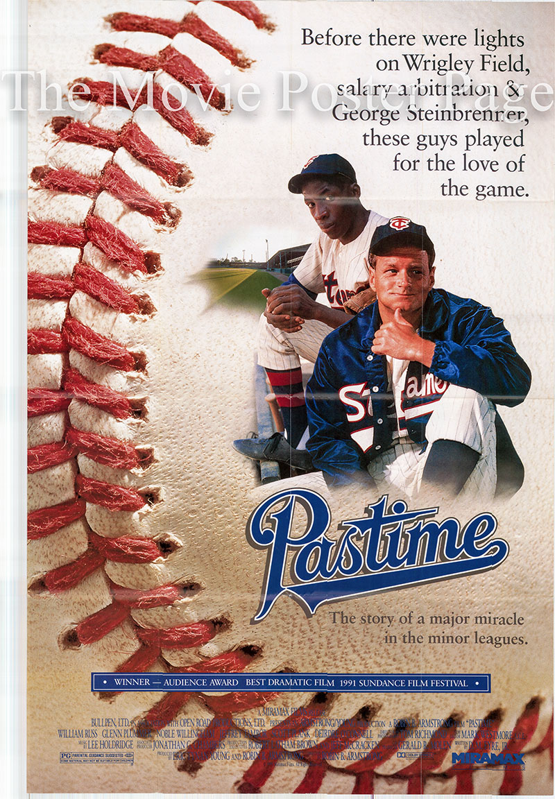 Pictured is a US one-sheet poster for the 1990 Robin B. Armstrong film Pastime starring William Russ.