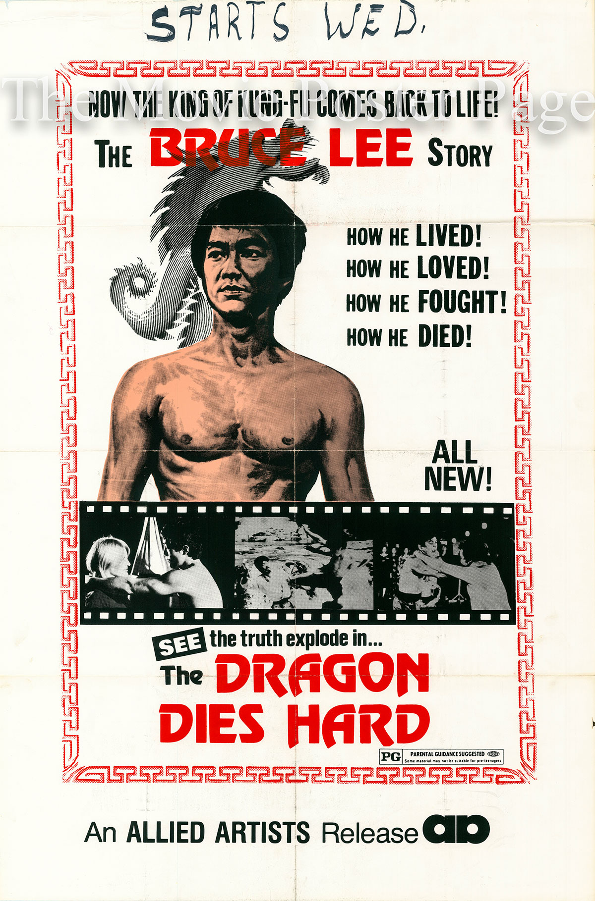 the story of bruce lee as described in the book bruce lee they died too young