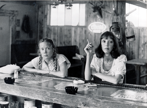 Pictured is a US promotional still photo from the 1977 Robert Altman film Three Women starring Sissy Spacek and Shelley Duvall.