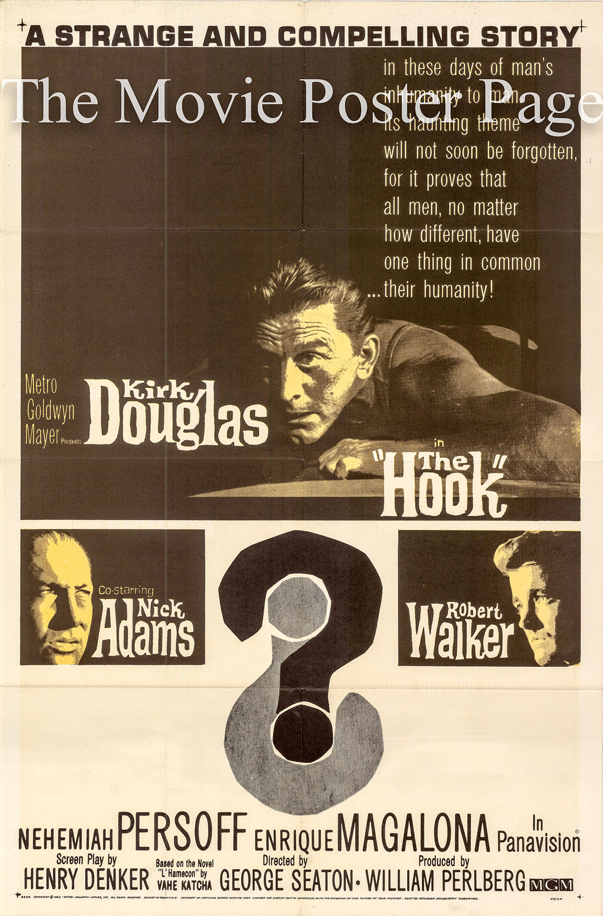 Pictured is a US one-sheet promotional poster for the 1964