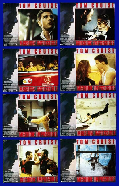 Mission Impossible (1996) - (Tom Cruise) LC set, EX $25 *