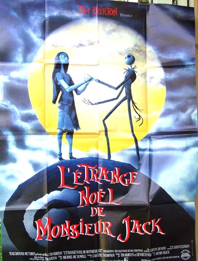 Nightmare Before Christmas In French.Nightmare Before Christmas 1993 Tim Burton French