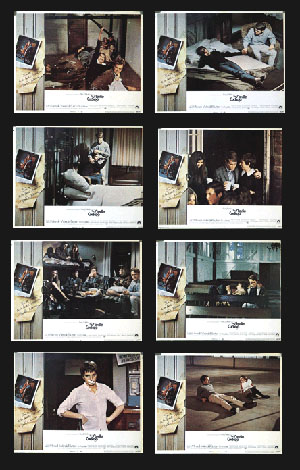 Pictured is a US promotiohnal lobby card set for the 1969 Alan J. Pakula film The Sterile Cuckoo, starring Liza Minnelli.