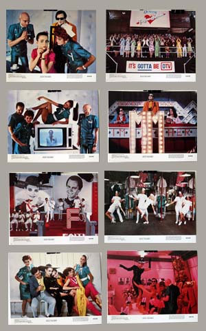 Pictured is a US lobby card set for the 1981 Jim Sharman film Shock Treatment starring Jessica Harper as Janet Majors.