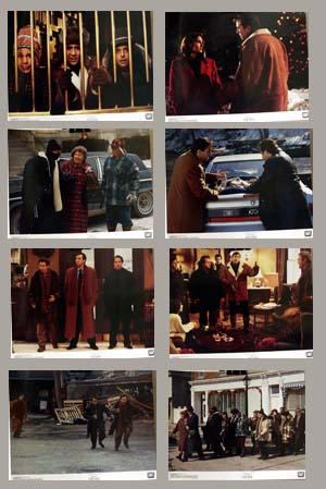 Pictured is a US promotional lobby card set for the 1994 George Gallo film Trapped in Paradise starring Nicolas Cage.