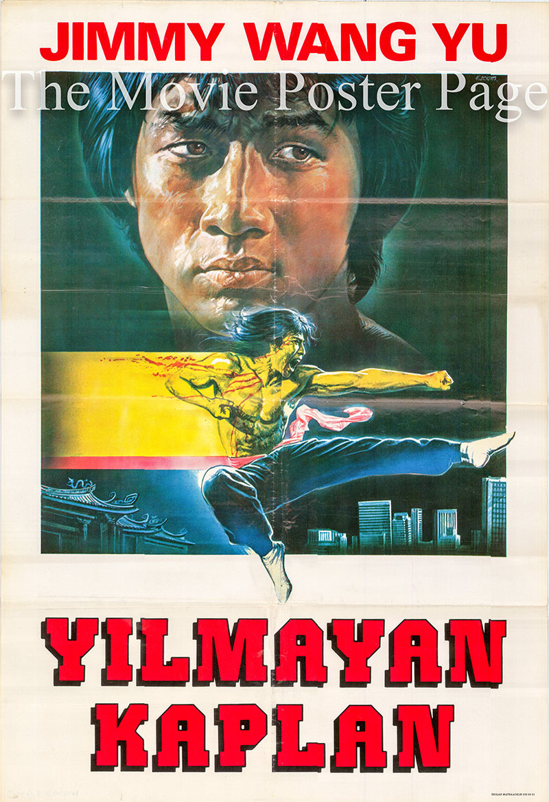 Pictured is a Turkish poster for the 1976 Shan-Hsi Ting film Queen's Ransom starring Jimmy Wang Yu as Jimmy.