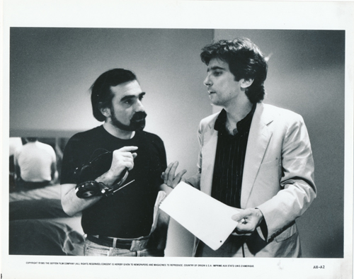 Pictured is a US promotional still photo from the 1985 Martin Scorsese film After Hours starring Griffin Dunne.