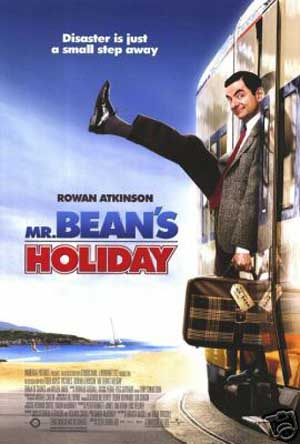Pictured is the US promotional poster for the 2007 Steve Bendelack film Mr. Beans Holiday starring Rowan Atkinson.