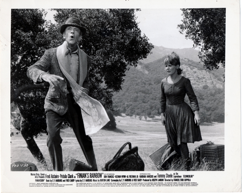 Pictured is a US promotional still photo from the 1968 Francis Ford Coppola film Finian's Rainbow starring Fred Astaire.