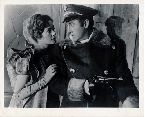 Pictured is a US promotional still photo from the 1952 Richard Thorpe film The Prisoner of Zenda starring Stewart Granger.