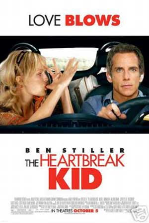 Pictured is the US promotional one-sheet poster for the 2007 Bobby Farrelly and Peter Farrelly film The Heartbreak Kid starring Ben Stiller.
