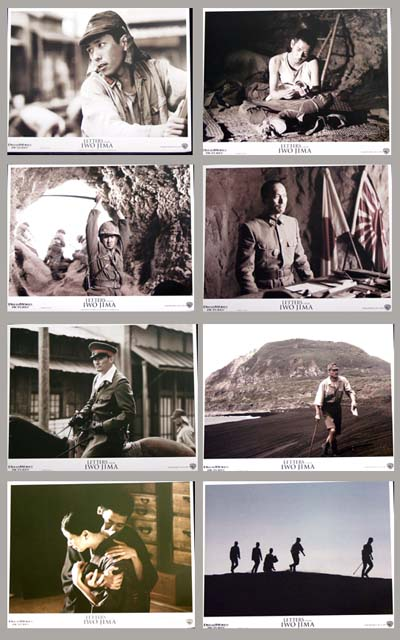 Pictured is a US promotional lobby card set for the 2006 clint Eastwood film Letters from Iwo Jima, starring Ken Watanabe.