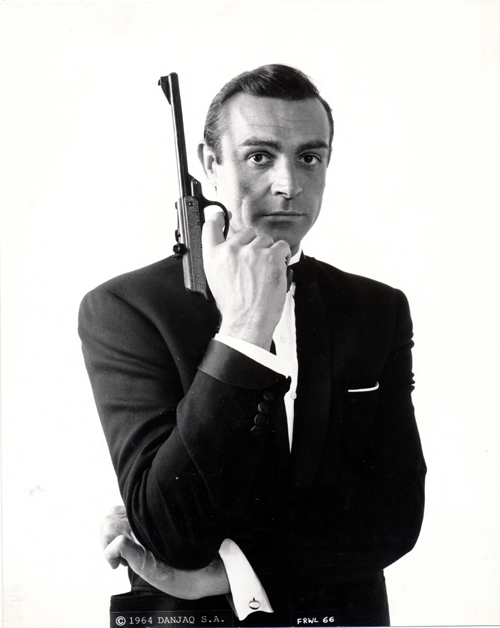 Pictured is a US promotional still photo from the Terence Young film From Russia with Love starring Sean Connery.