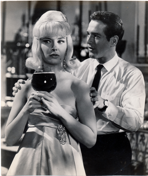 Pictured is a US promotional still photo from the 1960 Mark Robson film From the Terrace starring Paul Newman and Joanne Woodward based on the novel by John O'Hara.